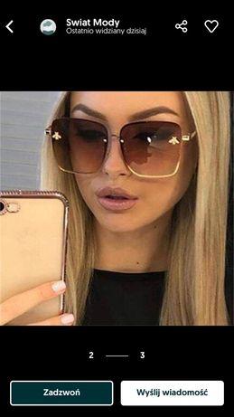 Okulary przeciwsłoneczne INSPIRED BY GUCCI