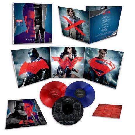 Batman V. Superman: Dawn of Justice OST 3LP VINYL