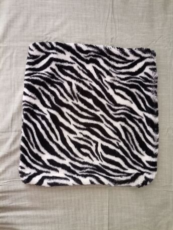Fronha de almofada padrão zebra (animal print)