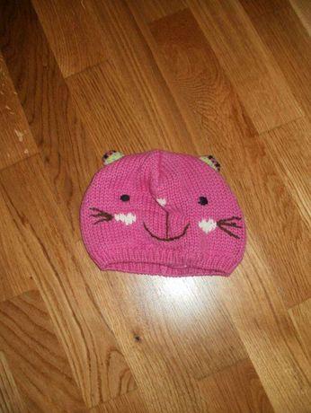 шапочка - котик на девочку