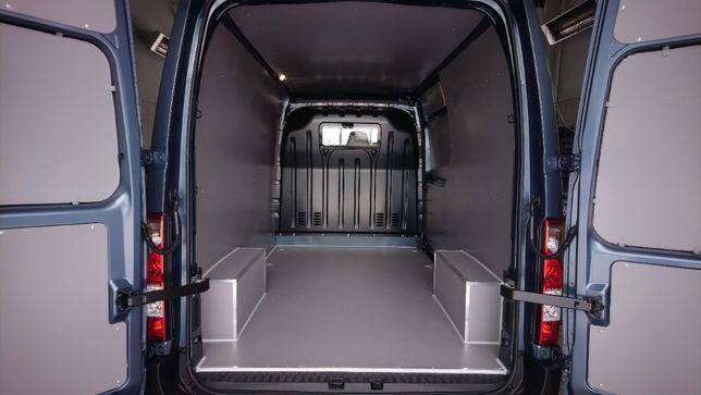 Zabudowy premium aut dostawczych Renault Master Opel Movano L2H2