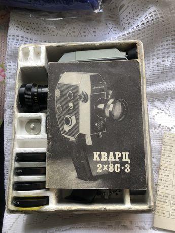 Советская камера Кварц