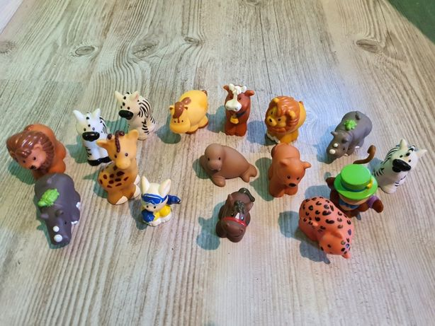 Figurka , figurki Fisher Price Little People Zwierzątka Zestaw