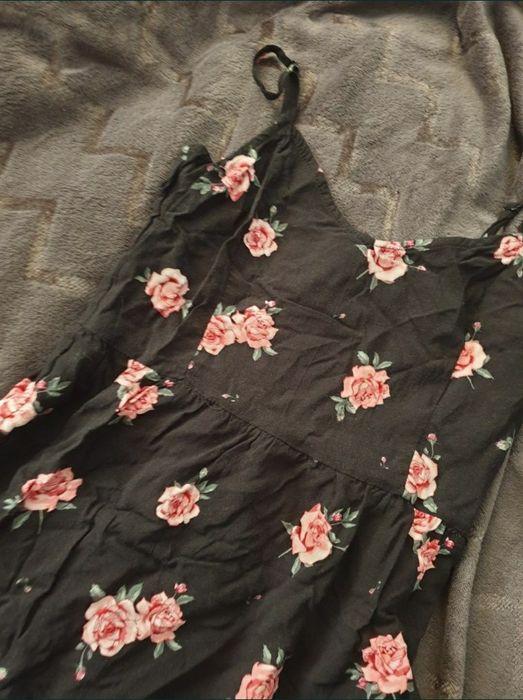 Sukienka w kwiaty L h&m Katowice - image 1