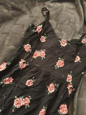 Sukienka w kwiaty L h&m