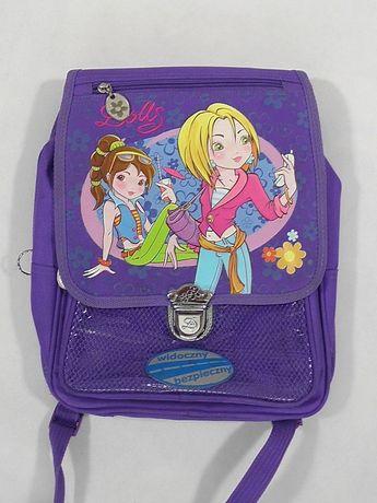 Dolls plecak szkolny tornister 28x33x11