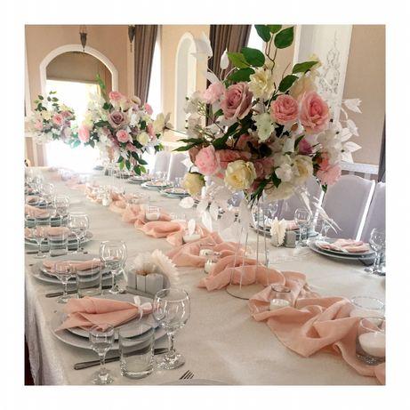 Президиум/стол молодых/украшение свадьбы/церемония декор