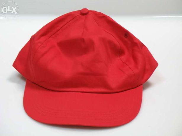 Bonés Snapback - Vermelho Liso - Vários