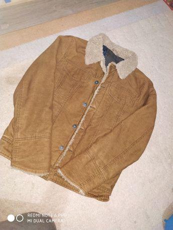 Куртка Вильвет с мехом 44-46р М