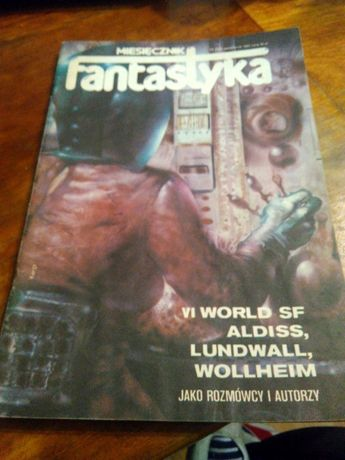 Czasopismo fantastyka 1983r