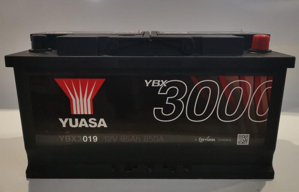 Akumulator YUASA YBX3019 95Ah 850A Promocja!!! Wrocław - image 1
