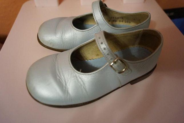 Pantofelki ze skóry firmy START-RITE r.25