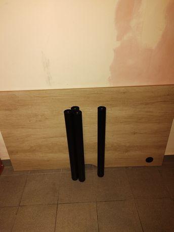 Duże masywne biurko jak nowe 140x80