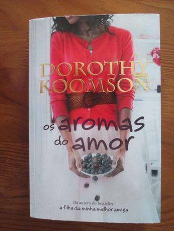 """livro """"Os aromas do amor"""" de Dorothy Koomson"""