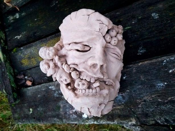 rzeźba z gliny - unikat