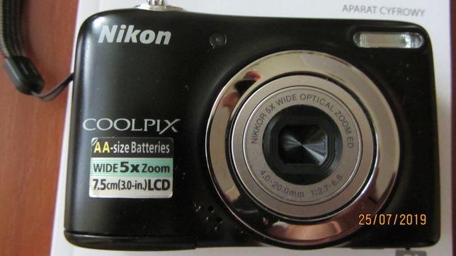 Nikon Collpix L25 Stan idealny