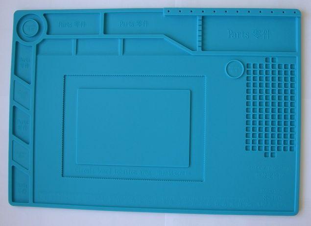 S-150 Силиконовый коврик 38,9х26,9 см для ремонта радиоэлектроники