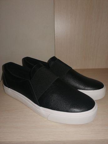 Czarne buty damskie r. 41