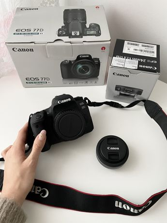 Canon 77d + Canon 24mm 2.8 STM