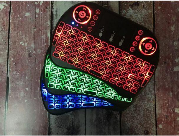 Беспроводная клавиатура RII Mini I8 ПОДСВЕТКА для Спарт ТВ и Т2
