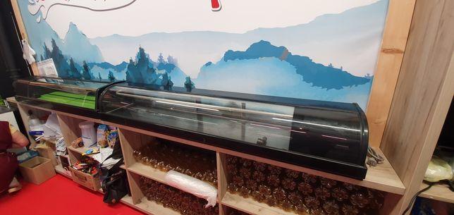 Витрина холодильная настольная б/у Hoshizaki HNC-180-BE-L-B