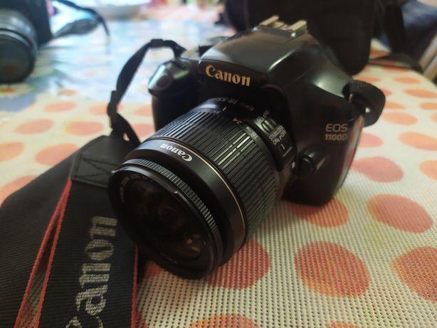 Canon 1100D з китовив обєктивом.