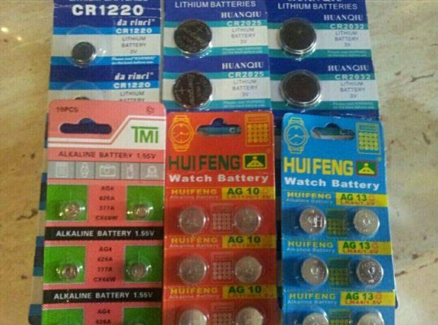 Bateria guzikowa AG3 AG4 AG10 AG13 CR1220 CR2016 CR2025 CR2032
