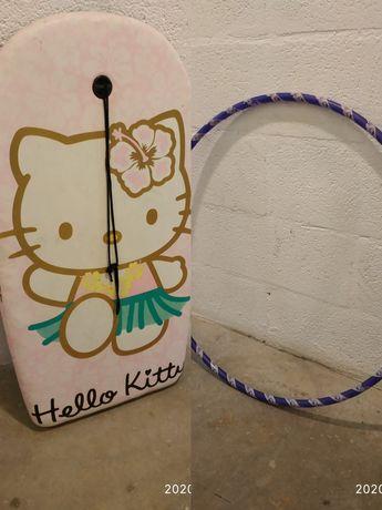 Conjunto de pranchas + arco hello Kitty + chourico