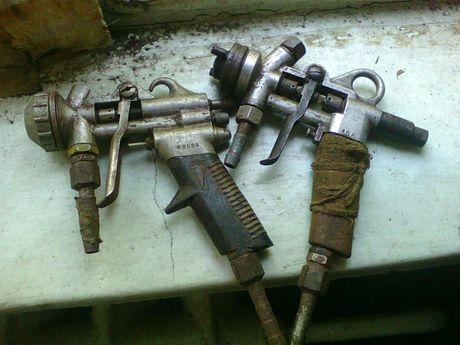 Краскопульт,распылитель,пульверизатор,пистолет для краски СССР