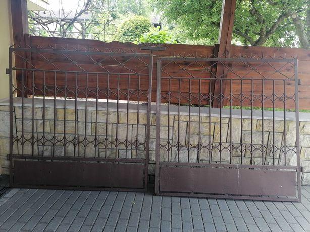 Brama wjazdowa plus furtka