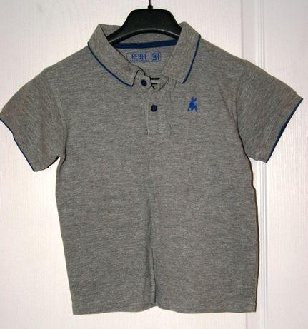 REBEL bluzka /polo 128cm