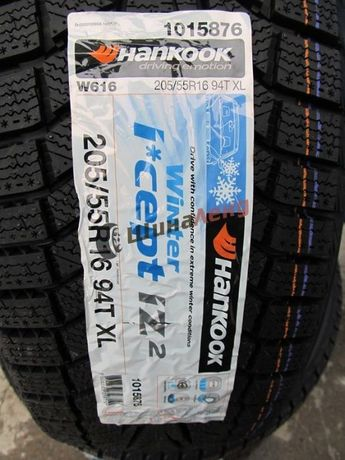 Зимние шины 205/55 R16 Hankook Winter i*cept iZ2 W616 - 2020, НП -30%