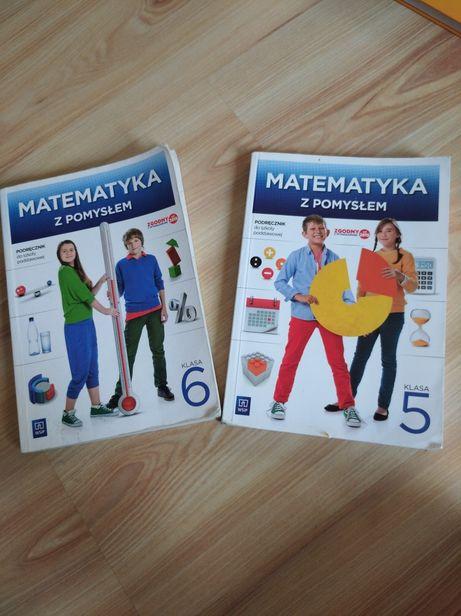 Matematyka z pomysłem 5,6, podręcznik do szkoły podstawowej