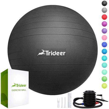 Мяч для фитнеса (фитбол) сатин 65см с насосом Trideer (MS 3218)