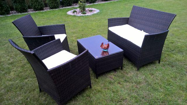 meble ogrodowe polyrattan sofa fotele