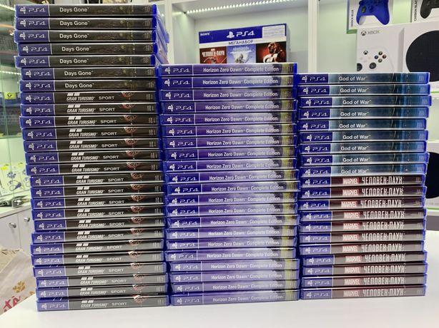 Нові диски PS4 І Наложка І Магазин