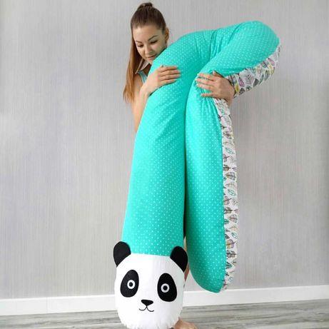 Подушка для беременных, обнимашка. Кокон, Бортик. Хлопок, Плюш