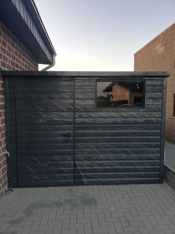 Garaże Blaszane Dowolny Wymiar Garaż blaszany 3x5 4x5 4x6 6x5 6x6 7x6