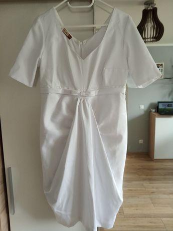 Sukienka ciążowa rozm. 42 biała