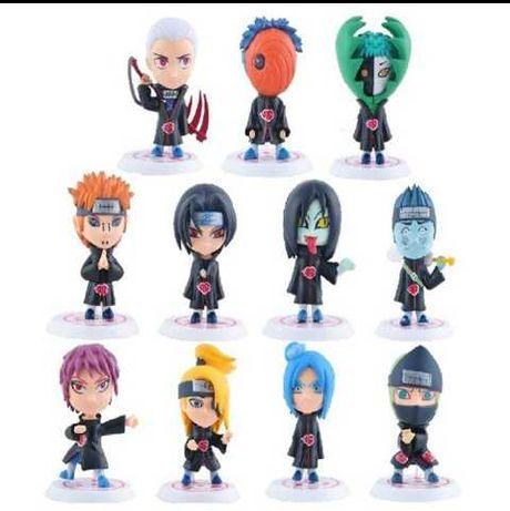 11 Figuras em PVC Akatsuki