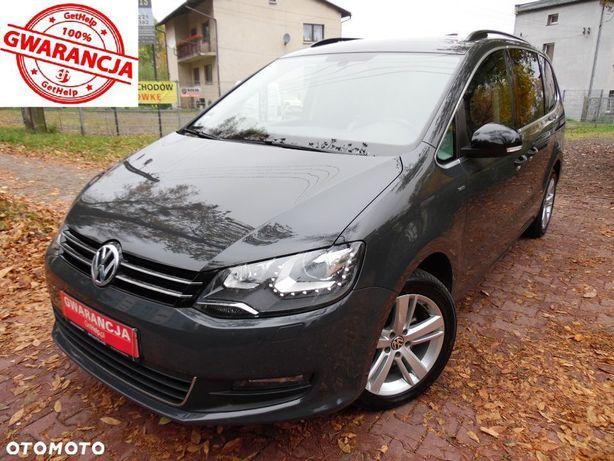 Volkswagen Sharan Ksenony/Ledy/Navi/Alu17/Hak/& Foteli/PełnySerwis
