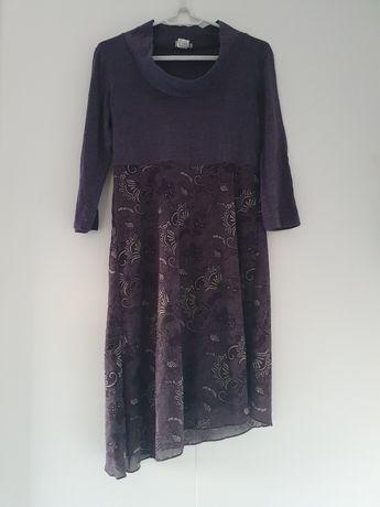Fioletowa sukienka 40 / 42