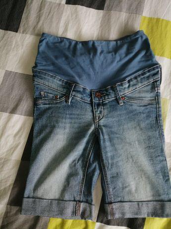 Spodnie spodenki szorty ciążowe h m