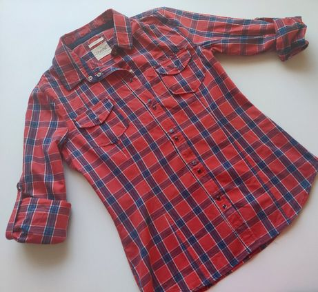 Koszula w kratę - Diverse S