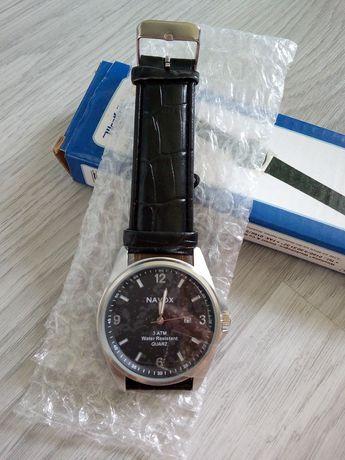 Męski zegarek, czarny
