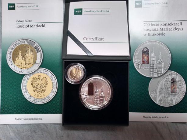 Moneta 50 zł Kościół Mariacki 700 lat
