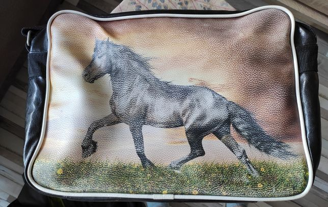 Torba z obrazem koniem