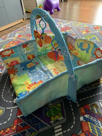 Розвиваючий коврик з бортиками для малюка