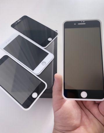 Защитное стекло АНТИШПИОН на iPhone 6/7/8/Plus/+/X/Max/SE/11 Pro/Айфон