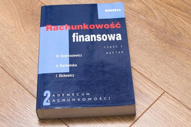 Rachunkowość finansowa wykład + zbiór zadań Difin praca zbiorowa